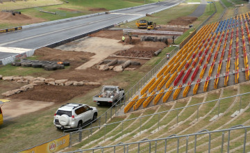 Sydney Dragway venue takes shape for round 2